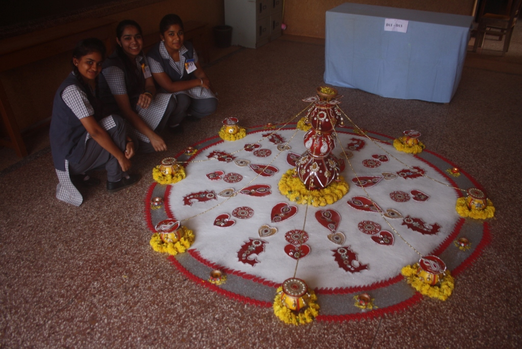 Rangoli Making